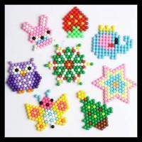 Hot 50Pcs Isi Ulang / Reffil Mainan Aquabeads - Aqua Bead Beads /