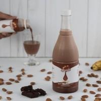 HOT SALE Almendra Raw Almond Milk / Susu Almond - Choco Banana 1 Liter