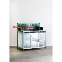 Promo Meja Cuci Piring Keramik + Alumunium Super Termurah