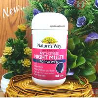 Natures Way Anti Stress Night Multi for Women 60tab