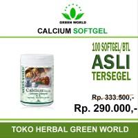 Promo Green World Calcium Softgel - Obat herbal untuk penyakit Tul