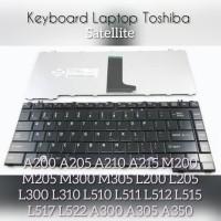 Keyboard Laptop Toshiba Satellite A200 A205 L510 Series