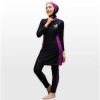 Baju Renang Muslimah Muslim Wanita Sporte