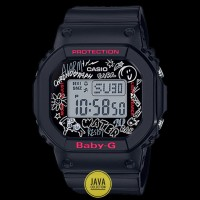Jam Tangan Wanita Original Casio Baby-G BGD-560SK-1DR-Black