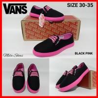 Sepatu Anak Perempuan Vans/ Sepatu Sekolah Anak Vans Cewek Size 30-35
