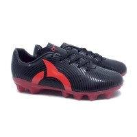 TERLARIS Sepatu Bola Anak Ortuseight Forte Helios FG JR (Black/Ortred)