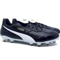 TERLARIS Sepatu Bola Puma King Top FG - Puma Black/Puma White TERMURAH