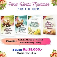 TERLARIS Paket Buku Islam Wanita Muslimah Pecinta al-Qur`an TERMURAH