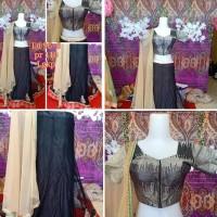 Lehengga Mewah Baju India Second LD 96+6 PR 110 Lengkap