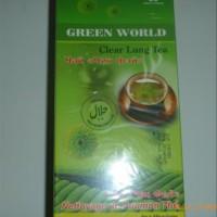 Promo CLEAR LUNG TEA GREEN WORLD