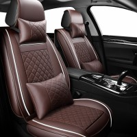 Leather car seat covers for toyota estima fj cruiser fortuner harrier