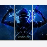 Sword Art Online Poster 3 Bingkai