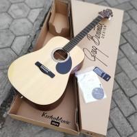 Jual gitar akustik original samick gregbnnet D310 N preamp fishman