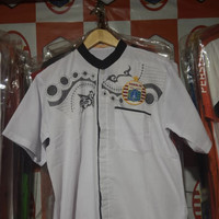 Baju Koko Persija Warna Putih