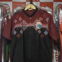 Baju Koko Persija Warna Coklat Hitam