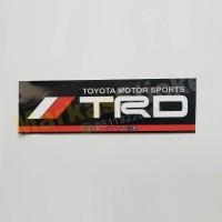 Sticker Toyota Motor Sport TRD Tempel Dalam