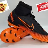sepatu bola Nike mercurial CR7 boot murah hitam