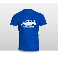Kaos Baju Pakaian Otomotif Mobil WULING FORMO SILUET TAMPAK SAMPING