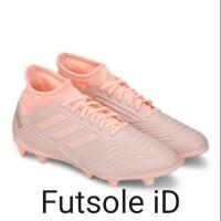 Sepatu bola Adidas Predator 18.2 Pink Fg Original