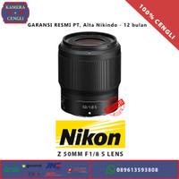 Nikon NIKKOR Z 50mm f1.8 S Lens - Garansi Alta Nikindo