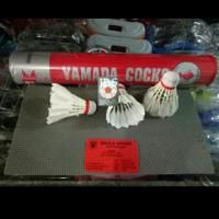 cock badminton atau shuttlecock yamada merah murah untuk anak