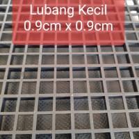 Egg Crate Pemisah akuarium Divider Coral Plug Tray Aquarium Sekat Ikan