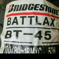BAN LUAR BATTLAX BRIDGESTONE BT45 UKURAN 100 -80 RING 18