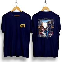 Kaos C70 kaos pria kaos distro cotton combed 30s T shirt kaos murah