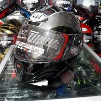 Helm KYT Rocket Black / Gun metal