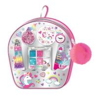 HOT FOCUS Unicorn Make Up Anak Set Little Bag of Beauty Complete