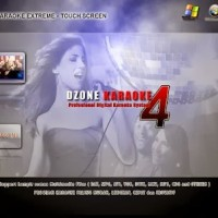 Ready SOFTWARE KARAOKE DZONE HOME EXTREME 4 TS FULL TOUCH SCREEN