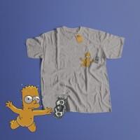K/54 Kaos Custom Kurt Nirvana Nevermind Simpson T-Shirt (5 Colors)
