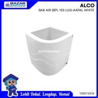 BAK AIR MANDI SUDUT ALCO LUXURY FIBER GLASS 120 LITER 120 LTR WHITE