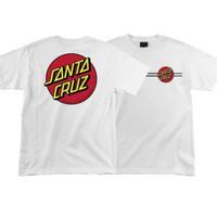 T-shirt kaos SANTA CRUZ SKATEBOARD high quality