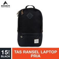 Eiger 1989 Safar Laptop Backpack 15L - Black