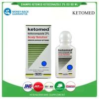 ketomed scalp solution - shampo anti ketombe dan jamur - shampo DHT