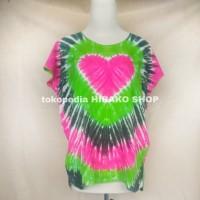 Atasan cewek Baju Pelangi Bali/ Baju pantai wanita / kaos katun rayon