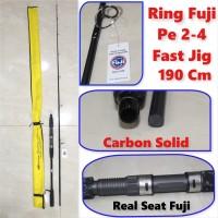 Joran Fast Jigging Solid Carbon VERSUS FASTFULL 632 Pe 2-4 (Fuji)