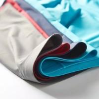 Boxer Pria 3 pcs Ice Silk  Pakaian Dalam Pria Bahan Lembut