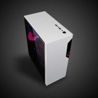 Promo Tahun Baru! Cube Gaming Vemuc White Or Black - Atx - Full