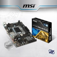 MB Motherboard MSI H110M-PRO-VH PLUS - Mainboard Mobo H110M PRO