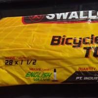 ban dalam sepeda ukuran 28 x 1 1/2 swallow