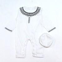 Baju Jumper Koko Muslim Aqiqah Anak Bayi Cowok ( 1-6 bln ) Kdm07