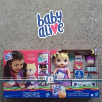 Baby Alive PARTY PRESENTS BABY / Not Snackin Lily - Surprise Box BONUS