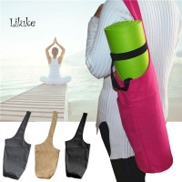 Unik LK Tas Backpack Portable Bahan Kanvas untuk Yoga / Pilates