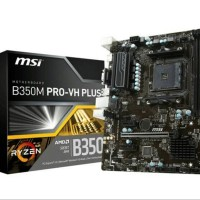 MURAH DISKON MSI B350M Pro VH Plus AM4 AMD Promontory B
