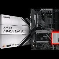 MURAH ASROCK X470 Master SLI Socket AM4 Motherboard AMD
