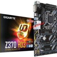 MURAH Motherboard Gigabyte Z370 HD3 LGA 1151