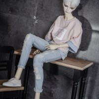 BJD doll clothes are suitable for 1/3 1/4 1/6 MSD size fashion persona