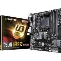 MURAH Gigabyte Motherboard GA-78LMT-USB3 R2 Socket AM3